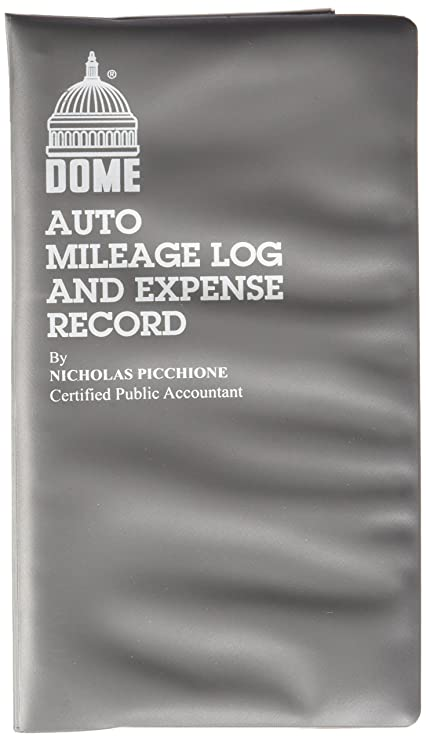 amazon com dome publishing auto mileage and expense record book