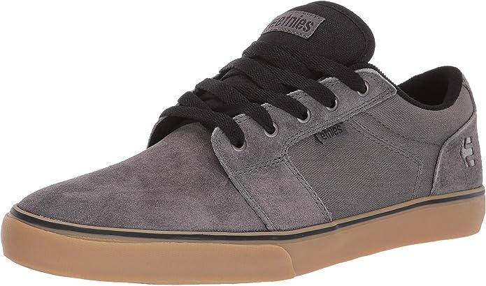 Etnies Barge LS Sneakers Skateboardschuhe Herren Grau/Kautschuk