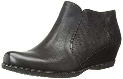 1263d0d13e9 Dansko Women s Luann Ankle Boot Black Burnished Nubuck 36 M EU (5.5-6 US