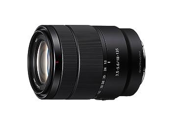 dedce95568 Sony SEL18135 - Lente Zoom (Montura E, Formato APS-C, 18-135 mm F3.5-5.6  OSS, Zoom de 7.5 x), Color Negro: Amazon.es: Electrónica
