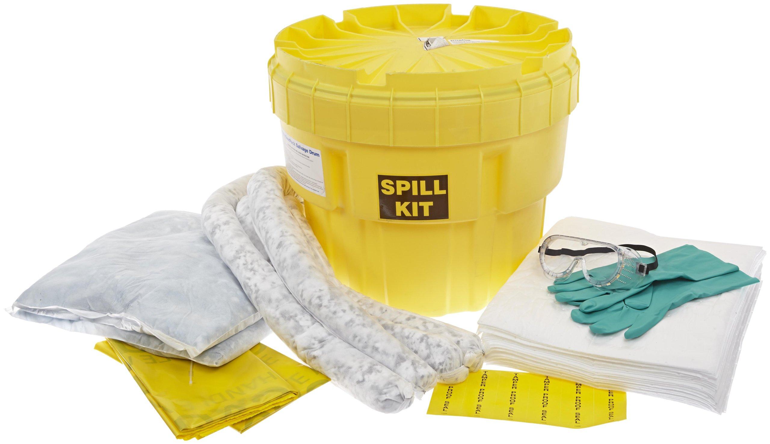 SpillTech SPKO-20 43 Piece Oil-Only 20 gallon Spill Kit by SpillTech
