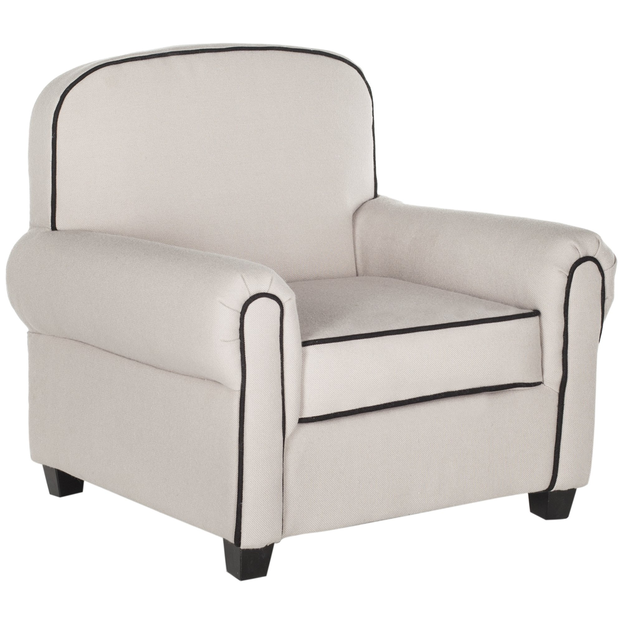 Safavieh Kids Collection Tiny Tycoon Club Chair, Taupe