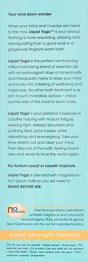 Mio Skincare - Jabón de baño para yoga (200 ml): Amazon.es ...