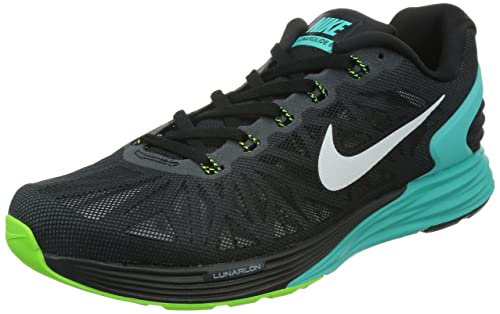 e32c241a7bce Nike Lunarglide 6 Men s Running SHOES-654433-014-SIZE-10 UK  Buy Online at  Low Prices in India - Amazon.in