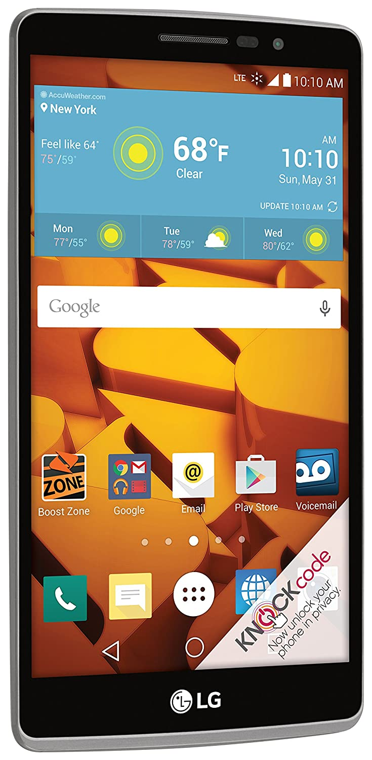 Lg G Stylo Boost Mobile Cell Phones Accessories Motorola W230 Silver Free Memory Card 1gb
