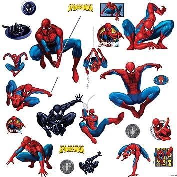 RoomMates RMK1045SCS Amazing Spider Man Peel U0026 Stick Wall Decals