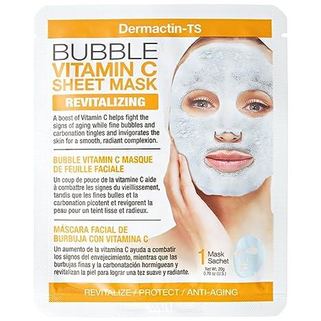 Dermactin-TS - Máscara de burbujas con vitamina C