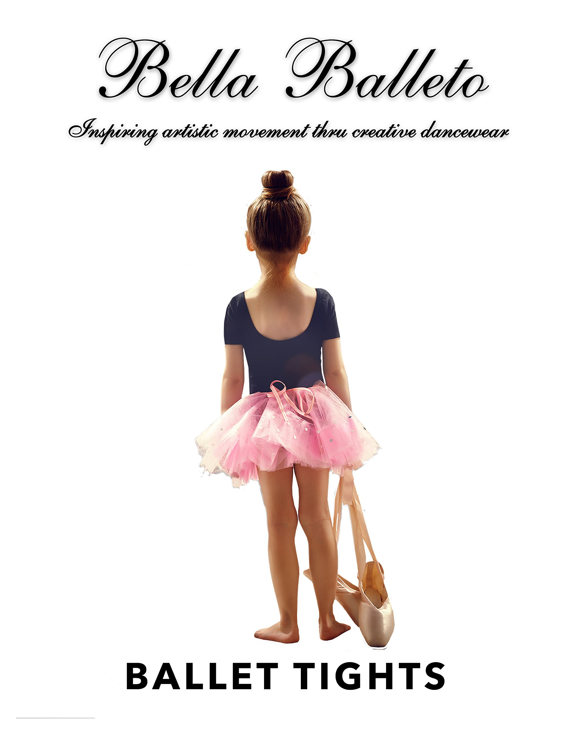 BELLA BALLETO BALLET TIGHT LT SUNTAN CONVERTIBLE ADULT MEDIUM by BELLA BALLETO LT SUNTAN BALLET CONVERTIBLE TIGHT ADULT MEDIUM HAND SEWN FLAT INVISIBLE SEAMS