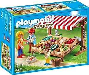 PLAYMOBIL Farmer's Market Vegetable Stand