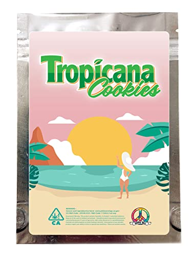 50Pack SHIPS IN 24 Cookies 3.5g Mylar Bags Empty Gas Exotic VARIETY PACK