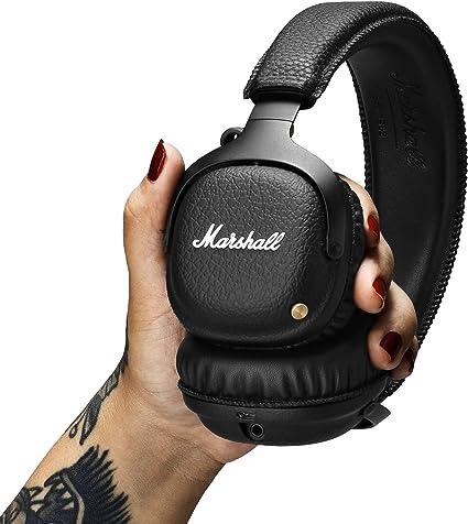 Marshall Mid Bluetooth On Ear Headphones Black Mp3 Hifi