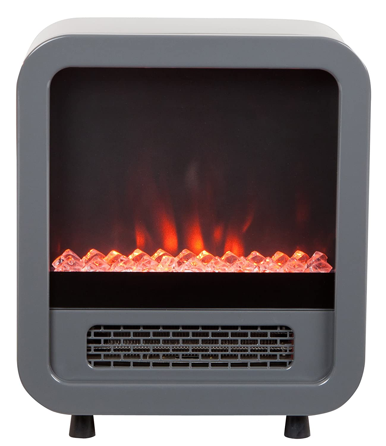 amazon com fire sense 61449 skyline electric fireplace stove