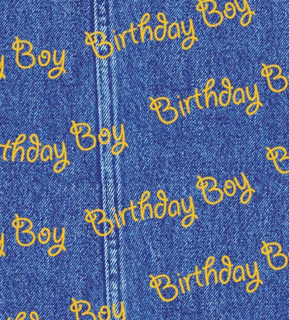 Birthday Boy Printed Tissue Paper 20 x 30 500 x 750mm 18gsm (10)