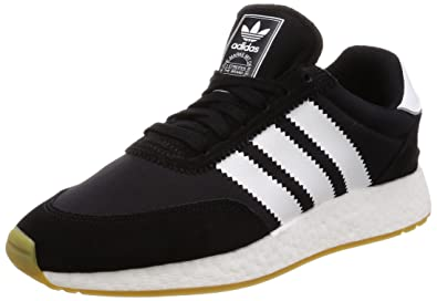 new arrival 1c724 ce58e Amazon.com   adidas Originals Men s I-5923 Black Mesh Suede Sneaker    Fashion Sneakers