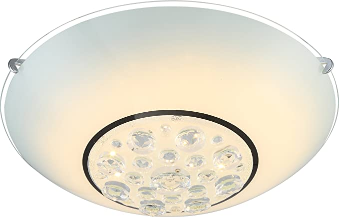 Plafoniere A Led 30 Cm : Globo louise plafoniera a led altezza cm diametro