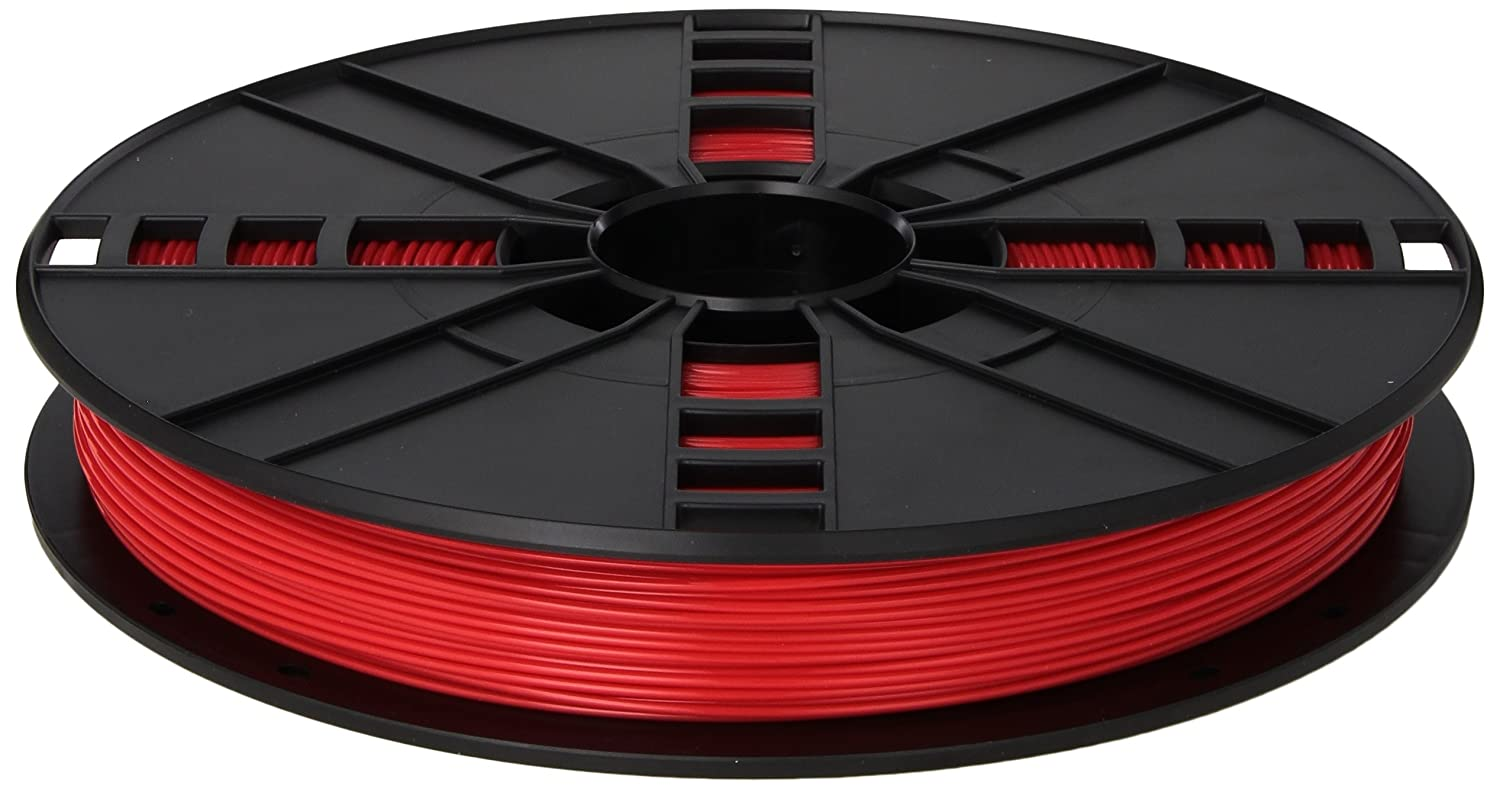 MakerBot PLA Filament, 1.75 mm Diameter, Large Spool, Red MP05779