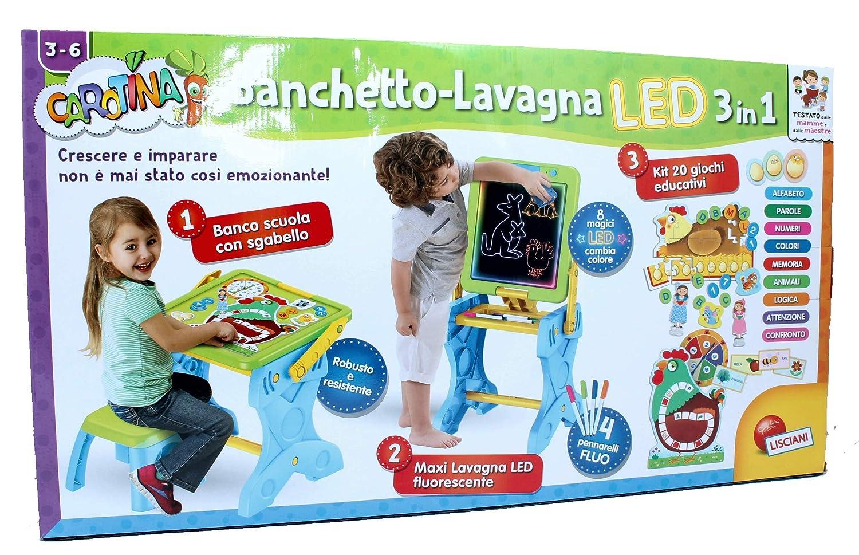Lisciani Banchetto Lavagna LED 3in1