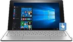 "HP Spectre 12-a008nr x2 Detachable N5S21UA#ABA Laptop (Windows 10, Intel Core m3-6y30, 12"" LED-Lit Screen, Storage: 128 GB, RAM: 4 GB) Black/Silver"