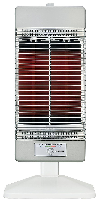 コロナ 遠赤外線電気ストーブ「コアヒート」(省エネセンサー搭載) シャンパンシルバー DH-1216R(SS) B01L0Y5PAY