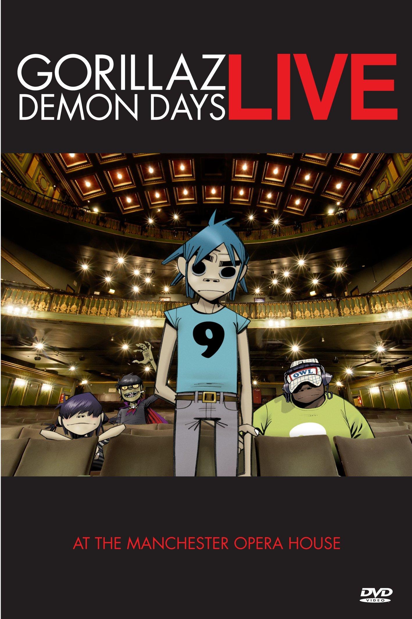 Gorillaz: Demon Days Live by EMD