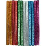 billionBAG Hot Melt Multi Purpose Glitter Glue Stick Multicolor (Golden, Green, Blue, Silver, Pink, White, Red)