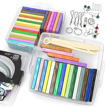 Kit de iniciación de arcilla polimérica, 36 colores de horno ...