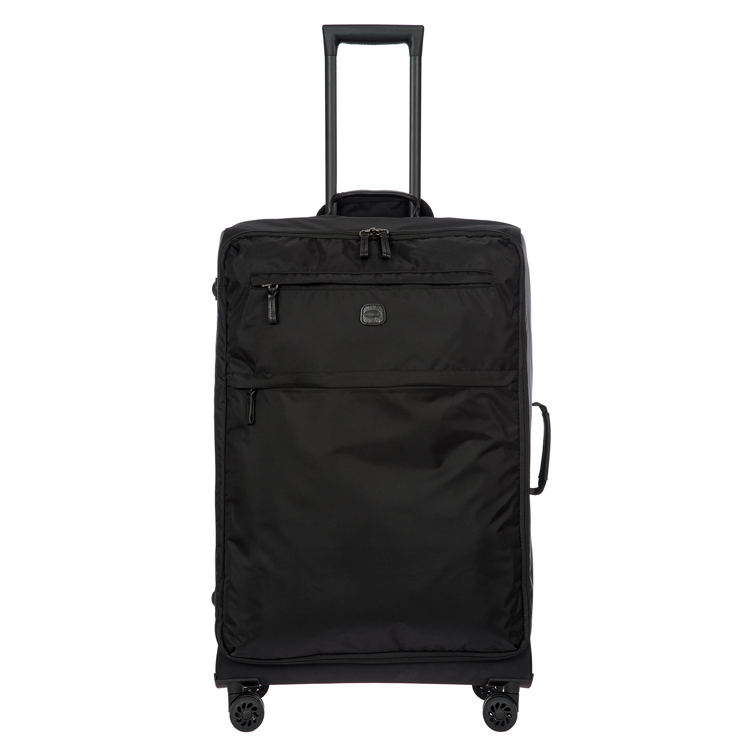 Bric's X-Bag/x-Travel 2.0 Ultralight 30 Inch Large Spinner with Frame, Black/Black