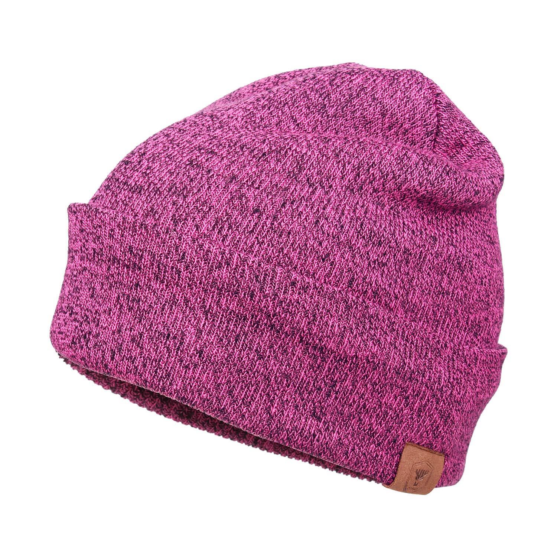 OZERO Mens Knit Beanie Hat Thermal Polar Fleece Lining Winter Warm Ski Skull Cap CAHF-0001-B-A