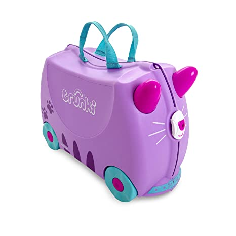 Trunki Maleta correpasillos y equipaje de mano infantil: Gato ...
