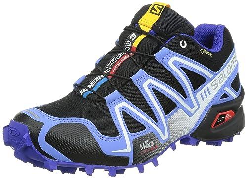 buy popular 0f24e 5d6e2 Salomon Speedcross 3 , Women s Trail Running Shoes, Multicolor (Black Petunia  Blue