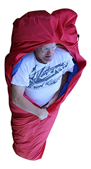 Wäfo Nanga Parbat de 1 de muñeco de Saco de vivac, Unisex, Nanga Parbat, Rojo, Talla única: Amazon.es: Deportes y aire libre