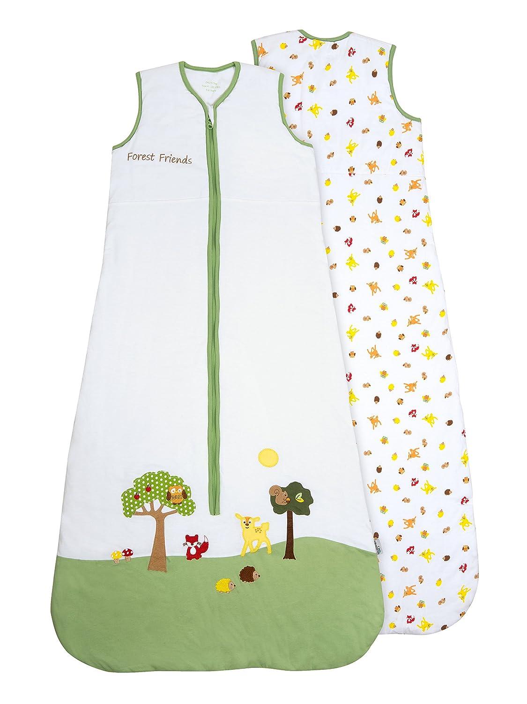 Slumbersac - Saco de dormir con diseño de animales del bosque para bebé (todo el año, 2, 5 tog) multicolor 128 : Amazon.es: Ropa y accesorios