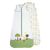 Schlummersack Baby Sommerschlafsack 0.5 Tog ungefüttert - Waldtiere - erhältlich in verschiedenen Grössen: von Geburt bis 6 Jahre