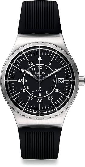 Swatch Hombre Reloj analógico automático con plástico Pulsera - yis403: Amazon.es: Relojes