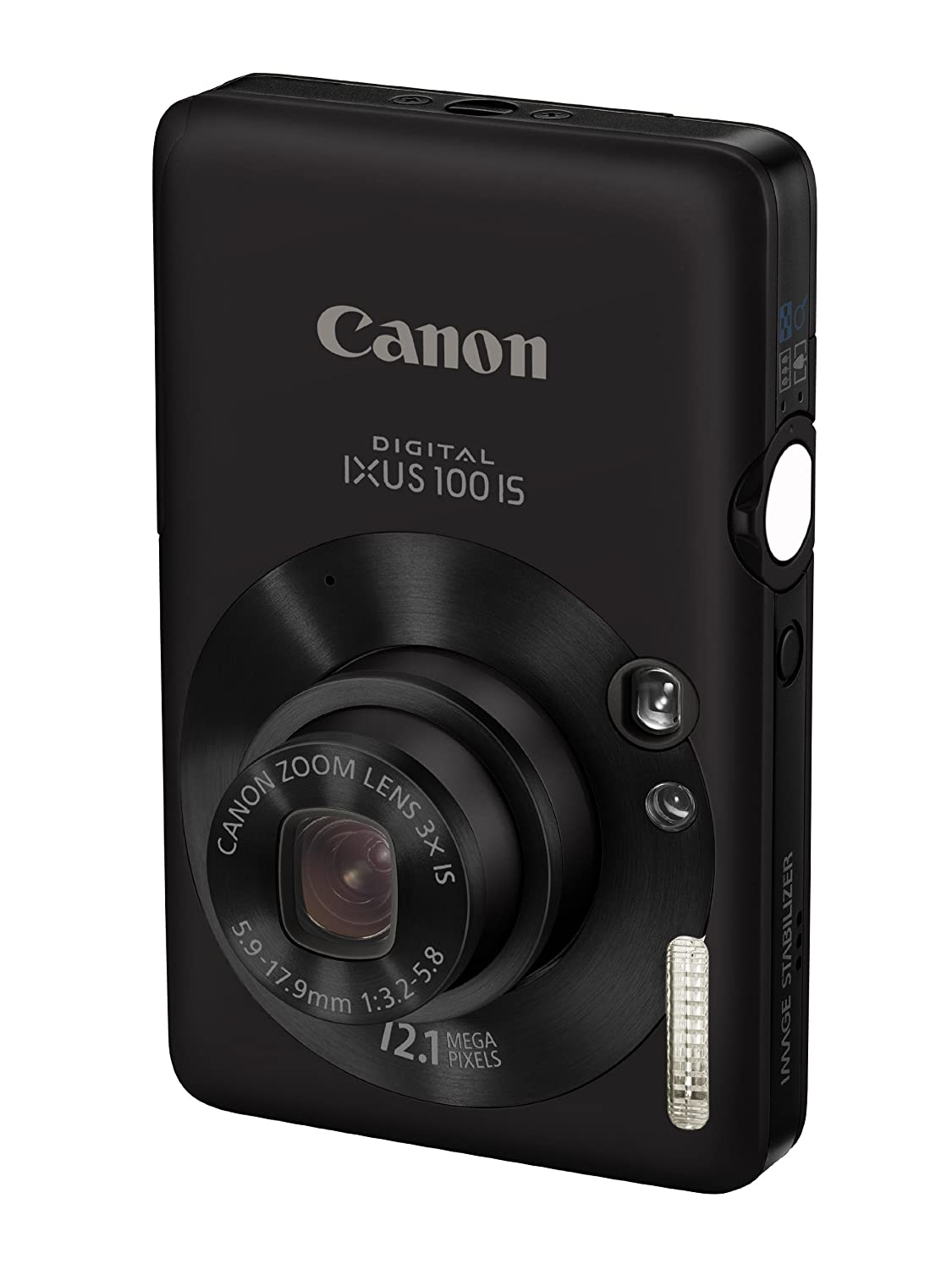 Canon Digital IXUS 100 IS Digital Camera - Black 2.5: Amazon.co.uk: Camera  & Photo