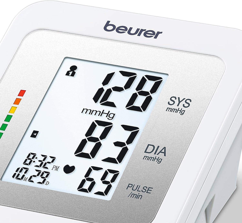 Beurer BM26 - Tensiómetro de brazo, para tomar la presión arterial ...