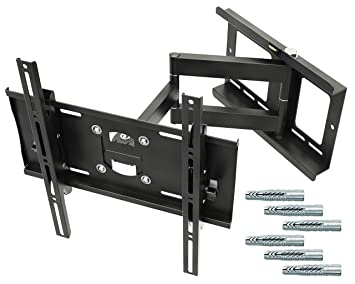 75f05e5c7e5 RICOO Support TV Mural orientable inclinable R23-F - Chevilles  Fischer®-UX10 Meuble