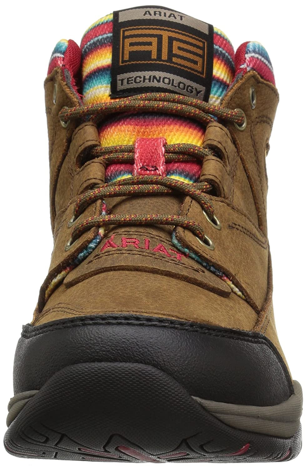 Ariat Women's Terrain Work Boot B01N9X8LSY 8 C US|Walnut/Serape