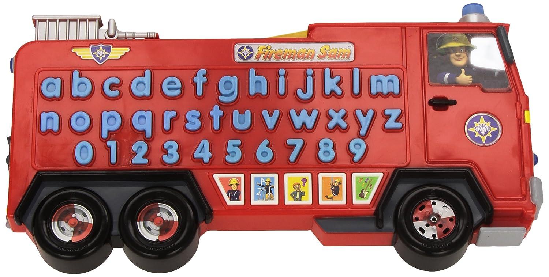 Inspiration Works - S1125 - Jeu Educatif Electronique - Jupiter - Camion De Sam Le Pompier Avec Alphabet