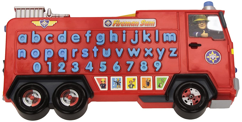 Inspiration Works Fireman Sam Jupiter Alphabet Rescue B0053XSBG4