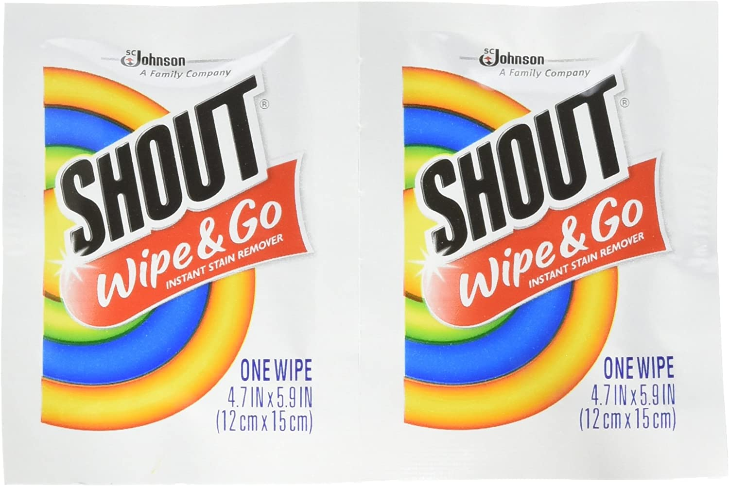 Shout toallitas quitamanchas instantáneo Towelette (80 Count ...