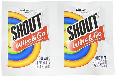 Amazon.com: Shout Quitamanchas instantáneo Towelette ...