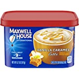Maxwell House International Cafe Vanilla Caramel Latte Instant Coffee (8.7 oz Canisters, Pack of 4)
