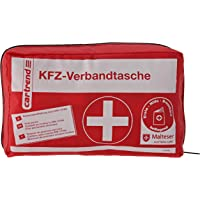 Cartrend 7730042 Kit de primeros auxilios rojo, DIN