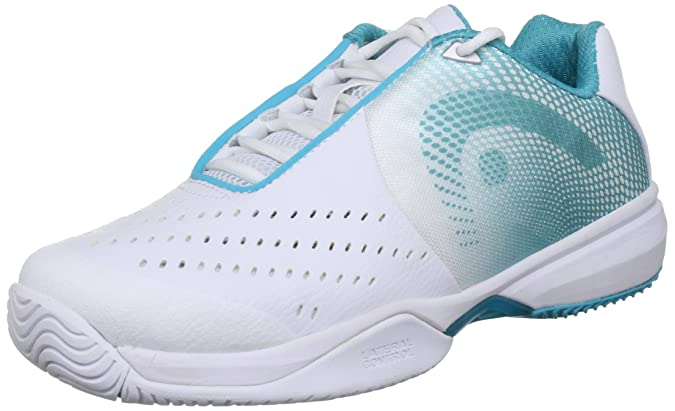 Head - Zapatillas pádel Instinct II Team Women, Color Blanco, Talla