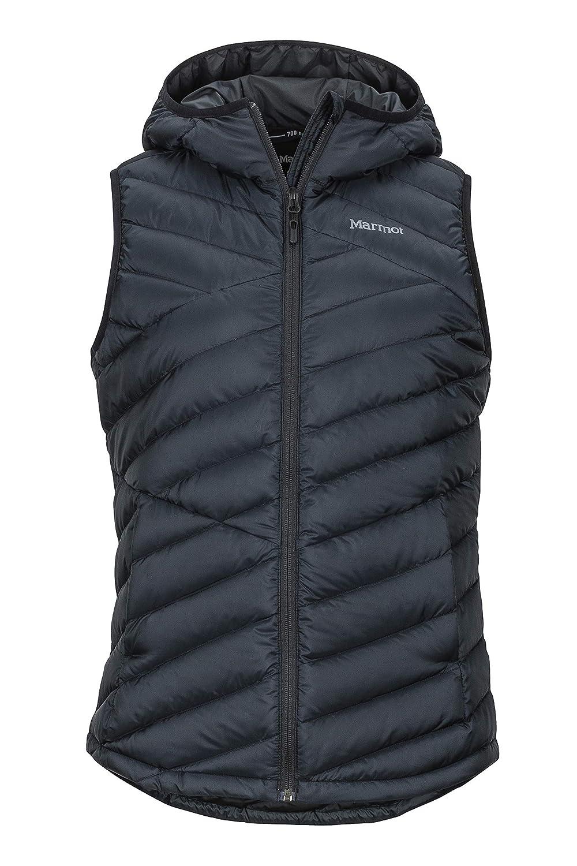 Marmot Damen Wm's Highlander Hoody Vest, Ultra-leichte Daunenweste, 700 Fill-Power, warme Outdoorweste, wasserabweisend, winddicht