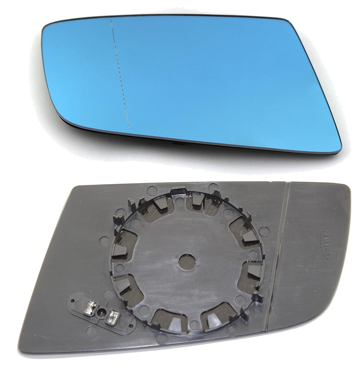 TarosTrade 57-0590-R-45888 Cristal De Retrovisor Calefactable Azul Lado Derecha: Amazon.es: Coche y moto