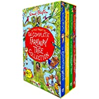 The Complete Magic Faraway Tree Collection 4 Books Box Set by Enid Blyton (Up The Faraway Tree, Folk of the Faraway Tree…