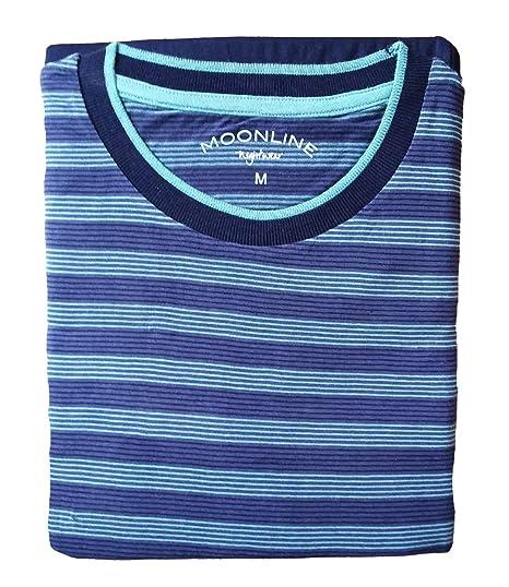 3265edd618ef70 Herren Schlafanzug lang Pyjama 100% Baumwolle Gr. M L XL XXL / 50 52 54 56:  Amazon.de: Bekleidung