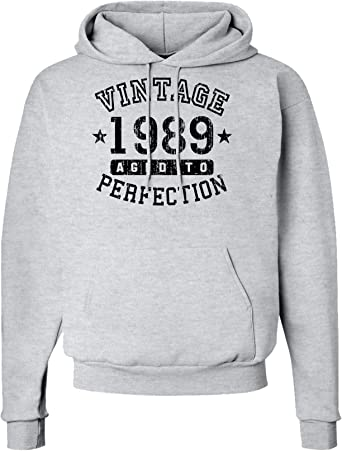 Aged To Perfection Made In Enter Your Birth Year Here Adult Hoodie